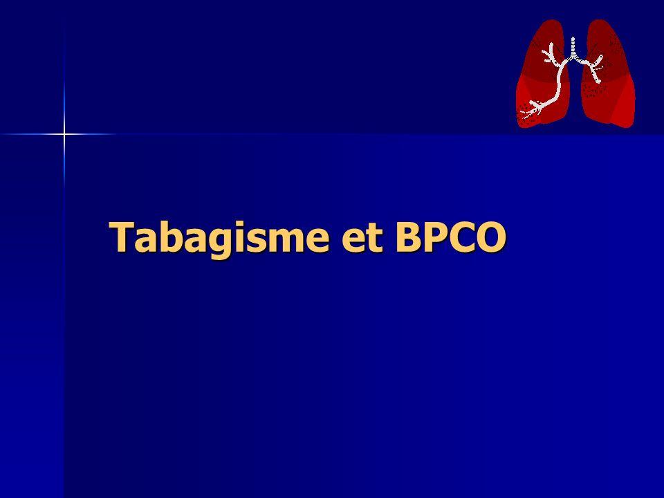 Tabagisme et BPCO