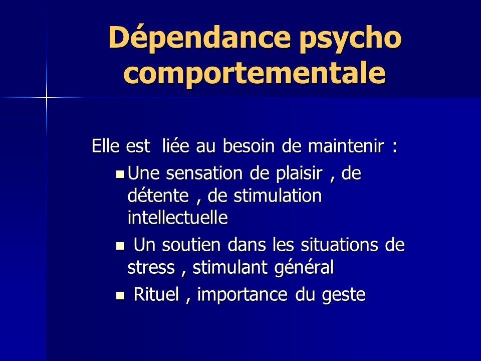 Dépendance psycho comportementale