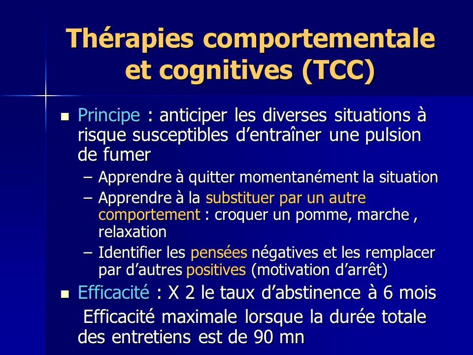 Thérapies comportementale et cognitives (TCC)