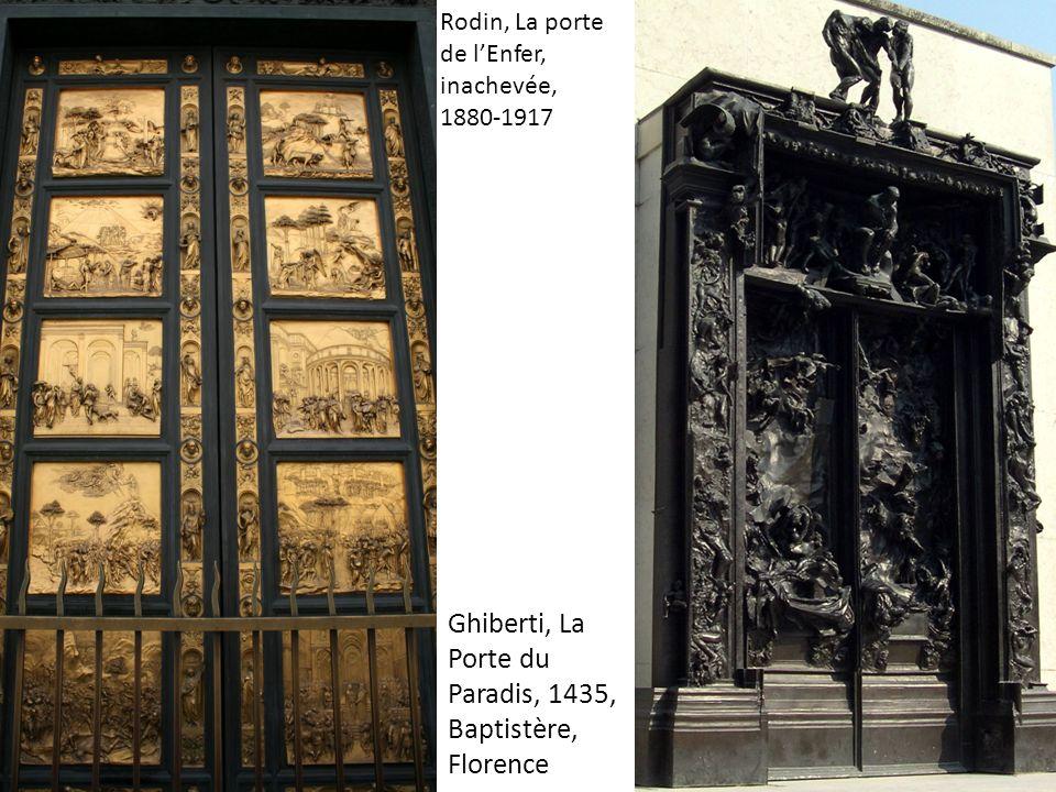 Ghiberti, La Porte du Paradis, 1435, Baptistère, Florence