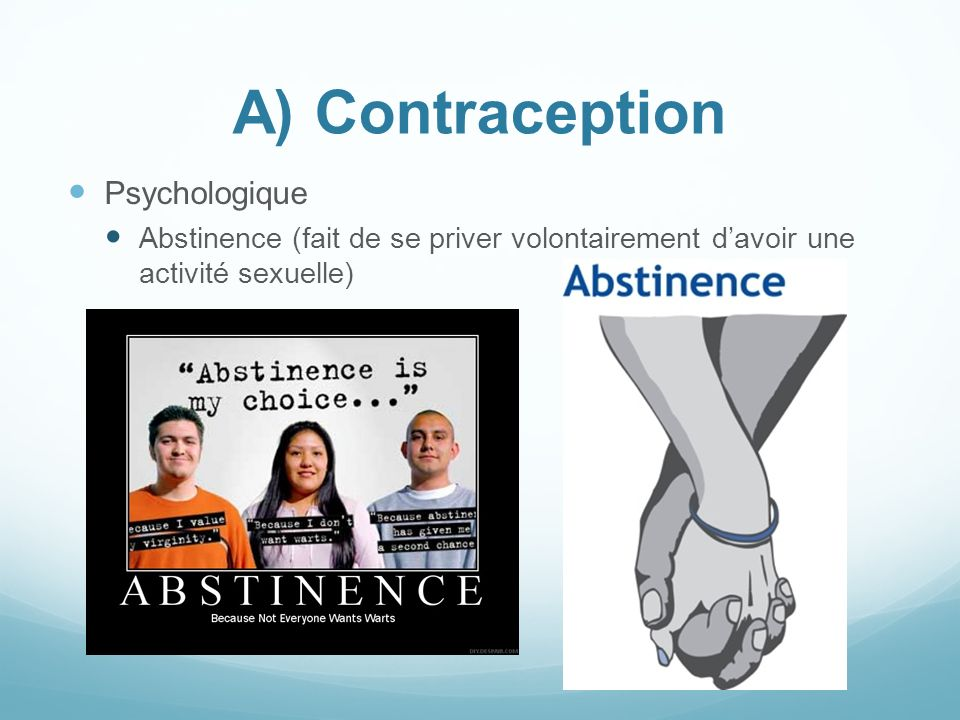 A) Contraception Psychologique