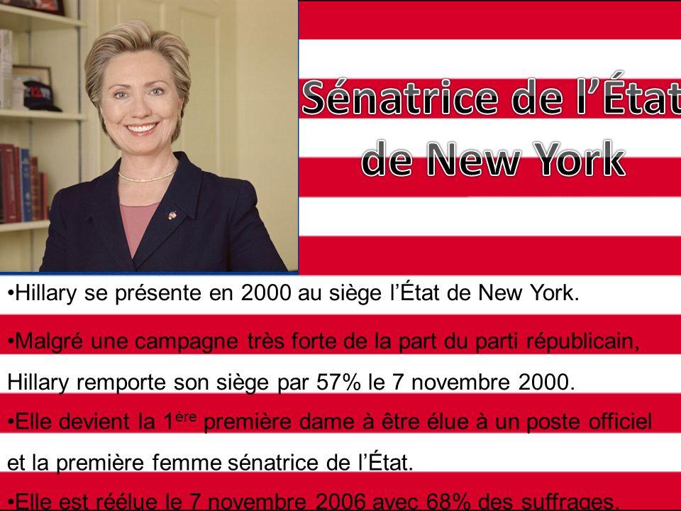 Sénatrice de l'État de New York