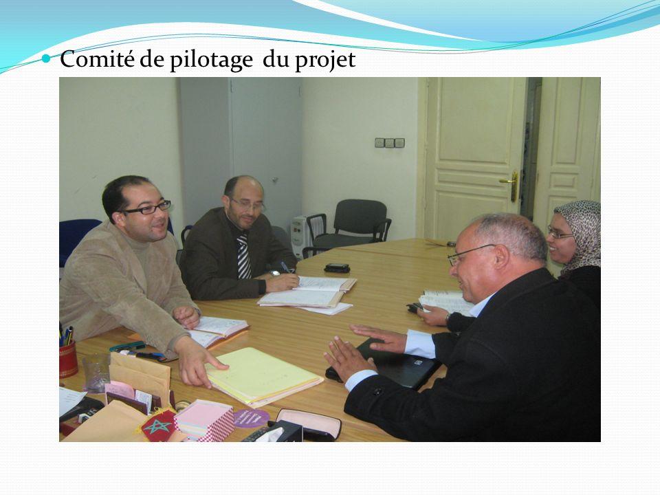 Comité de pilotage du projet