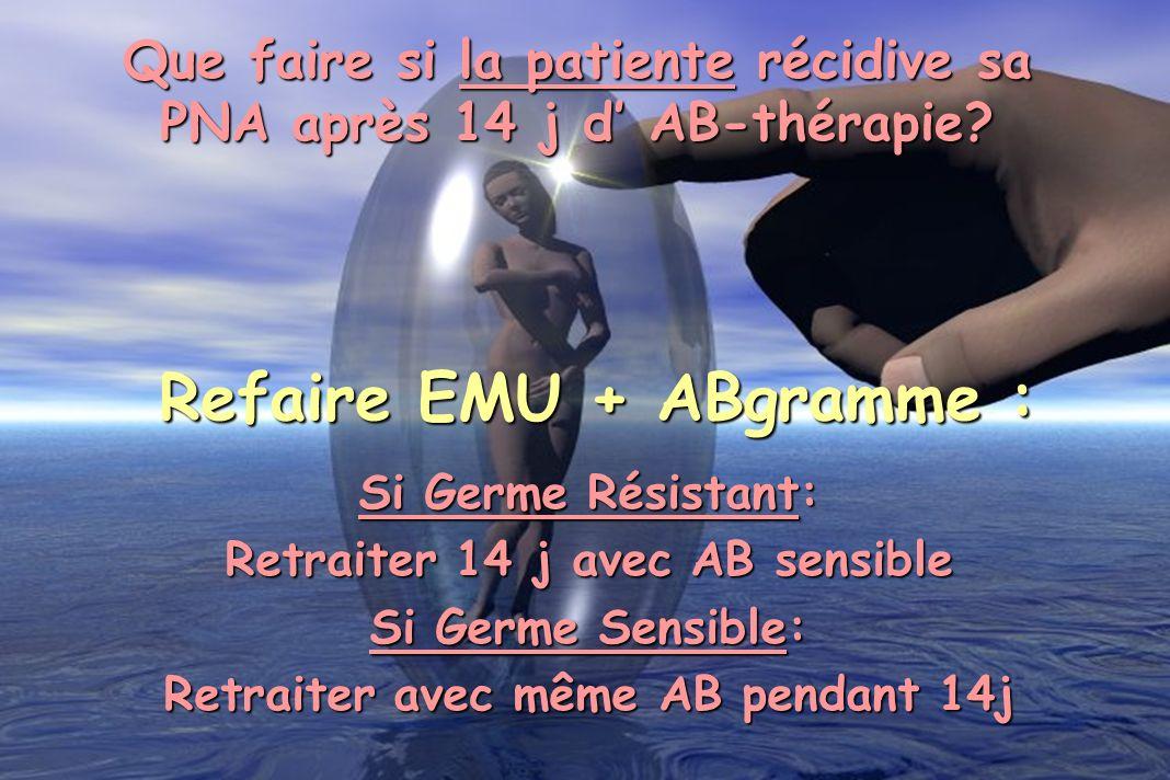 Refaire EMU + ABgramme :