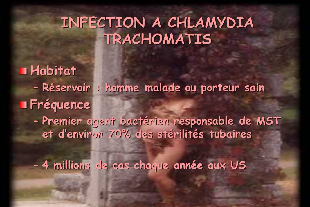 INFECTION A CHLAMYDIA TRACHOMATIS