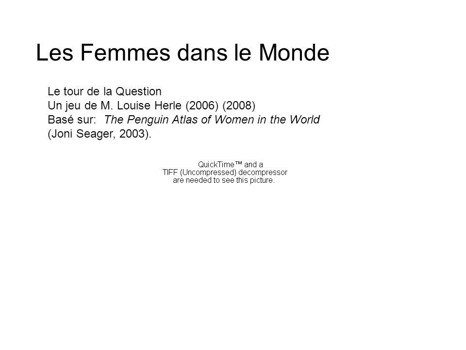 Les Femmes dans le Monde
