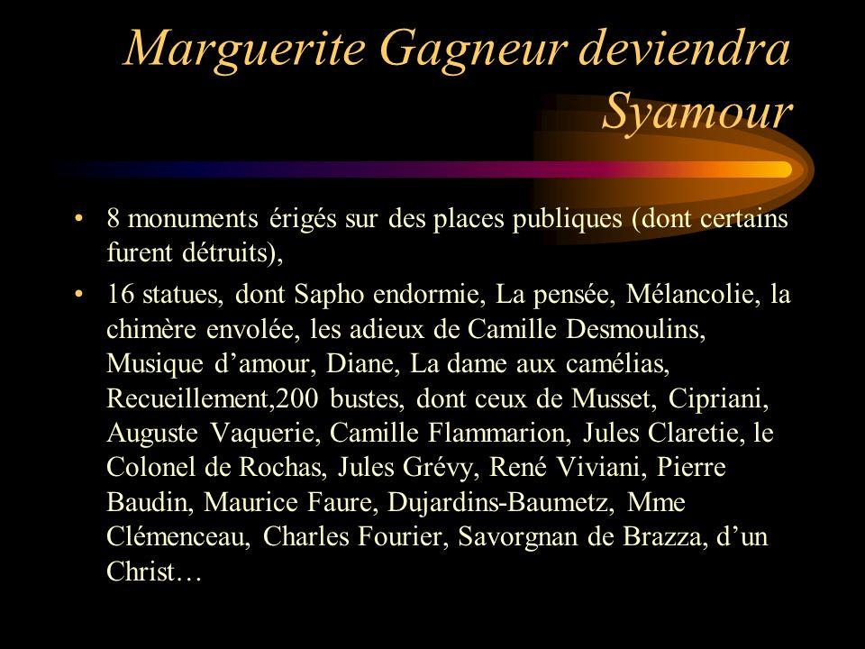 Marguerite Gagneur deviendra Syamour