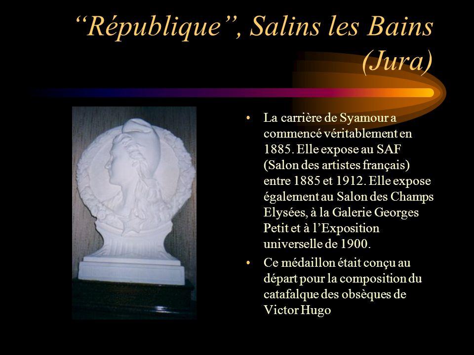 République , Salins les Bains (Jura)