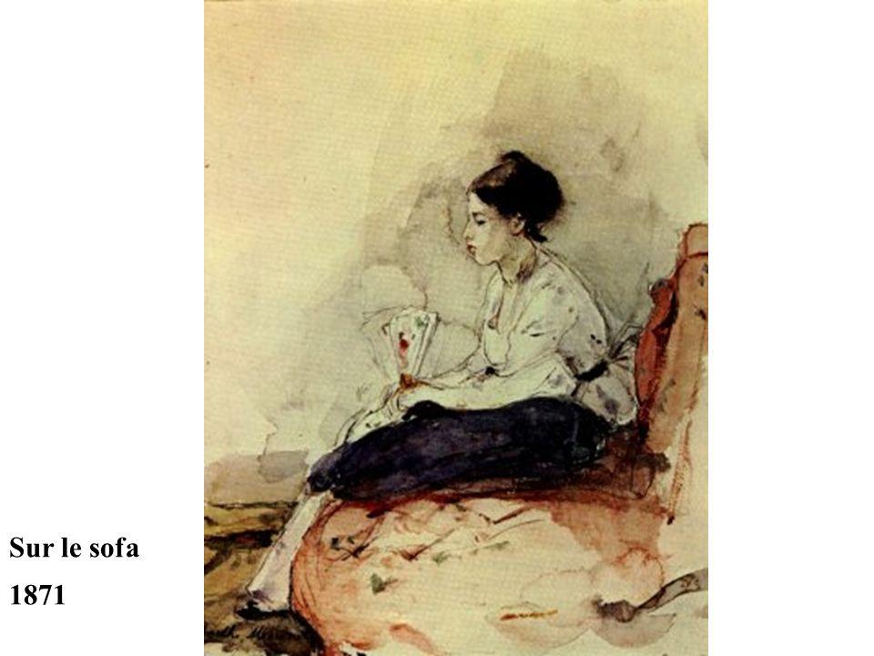 Sur le sofa 1871