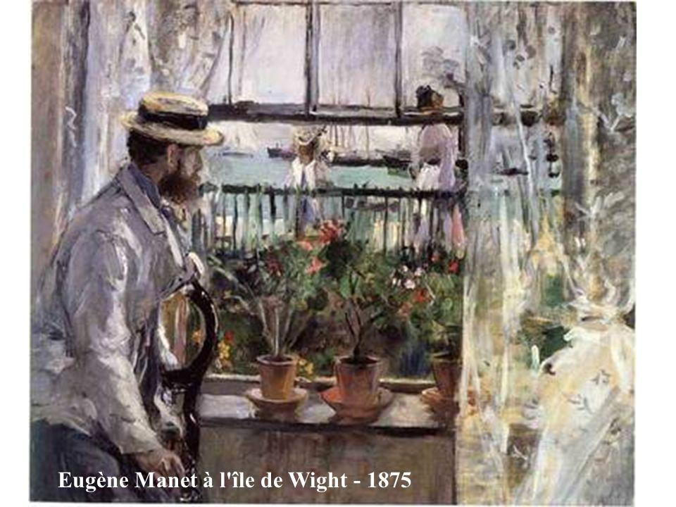 Eugène Manet à l île de Wight - 1875