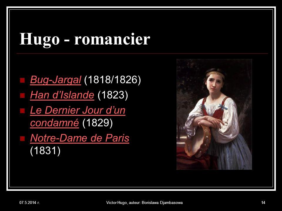 Victor Hugo, auteur: Borislawa Djambasowa