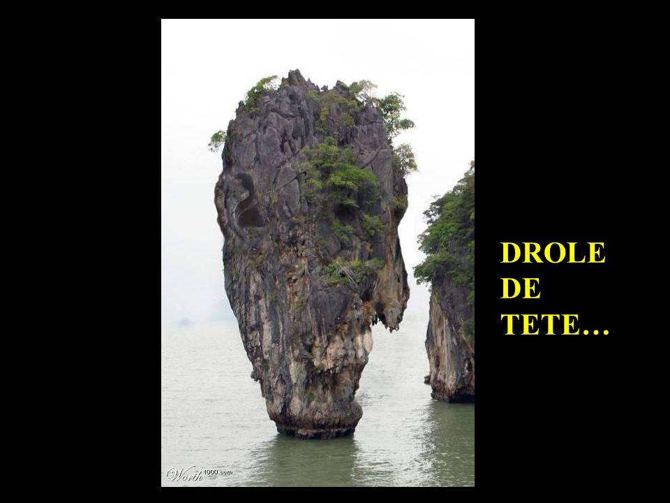 DROLE DE TETE…