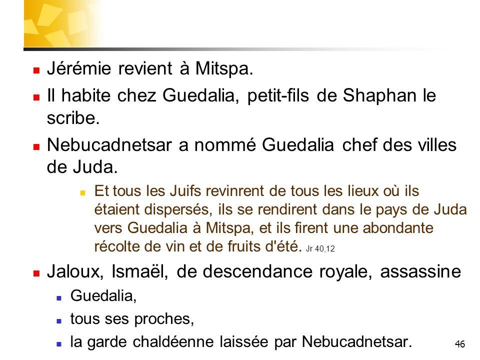 Jérémie revient à Mitspa.