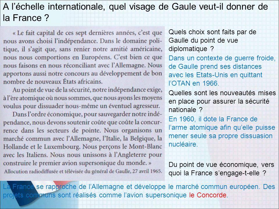 A l'échelle internationale, quel visage de Gaule veut-il donner de la France