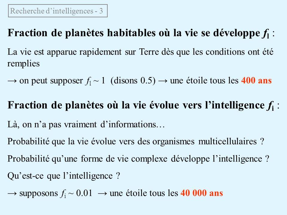 Recherche d'intelligences - 3