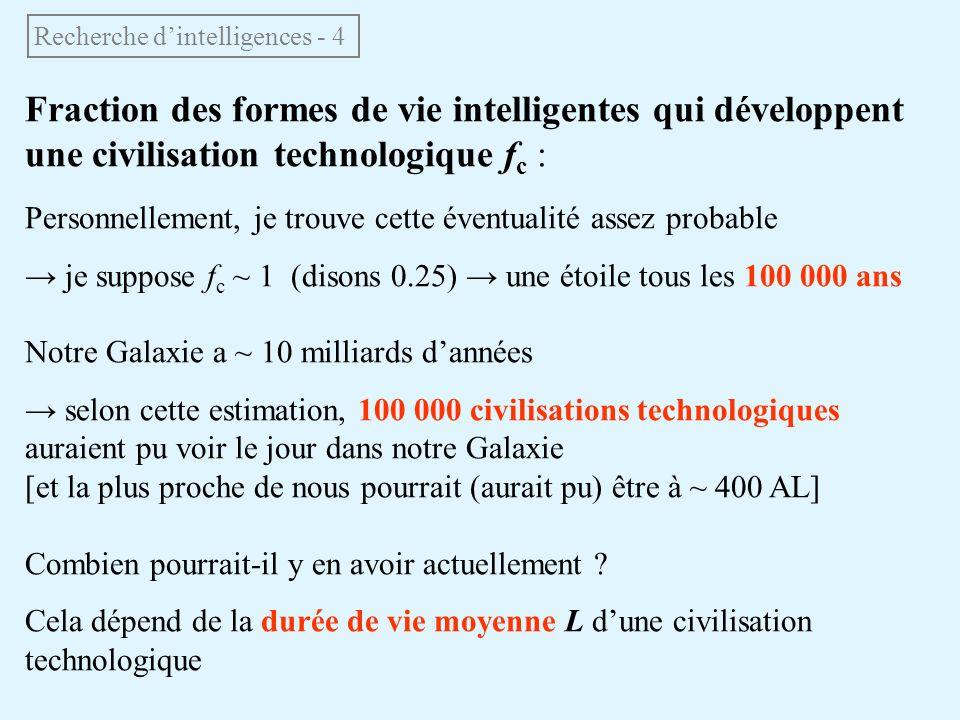Recherche d'intelligences - 4