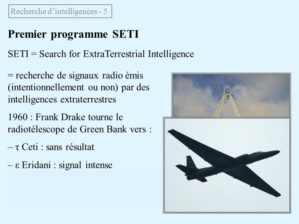 Recherche d'intelligences - 5