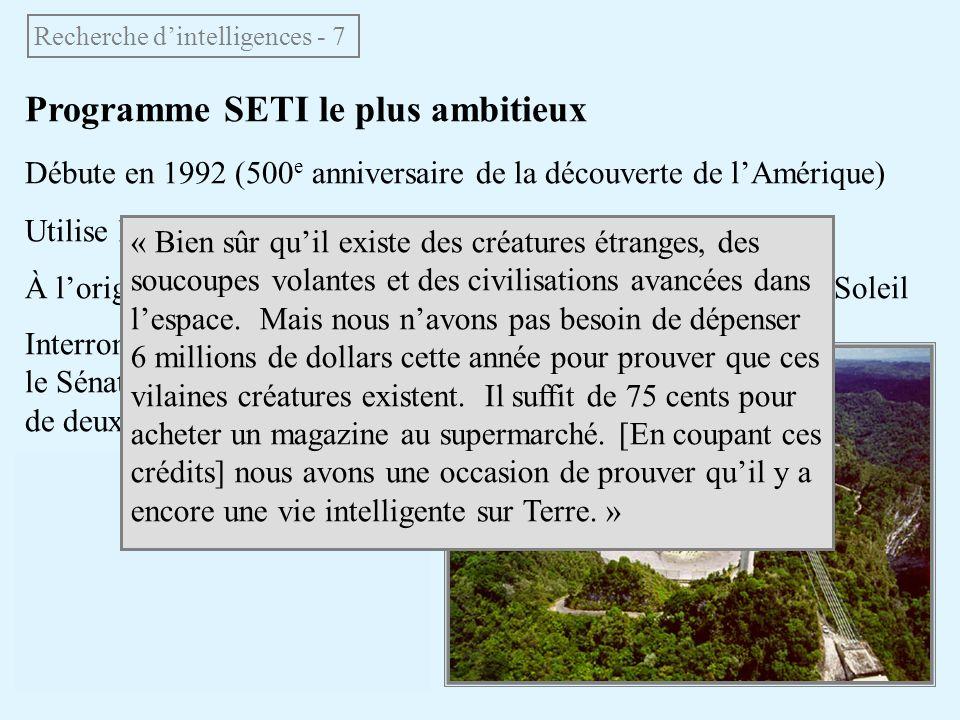 Recherche d'intelligences - 7