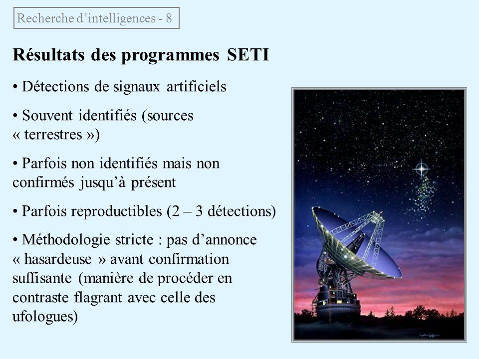Recherche d'intelligences - 8