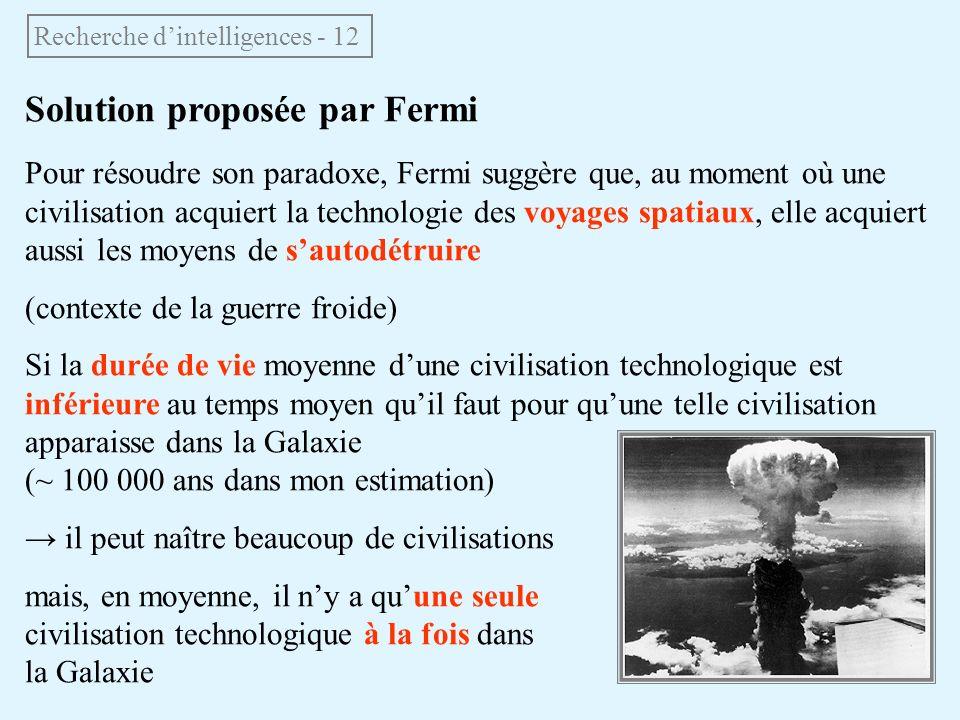 Recherche d'intelligences - 12