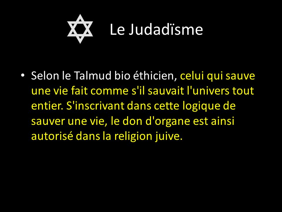 Le Judadïsme