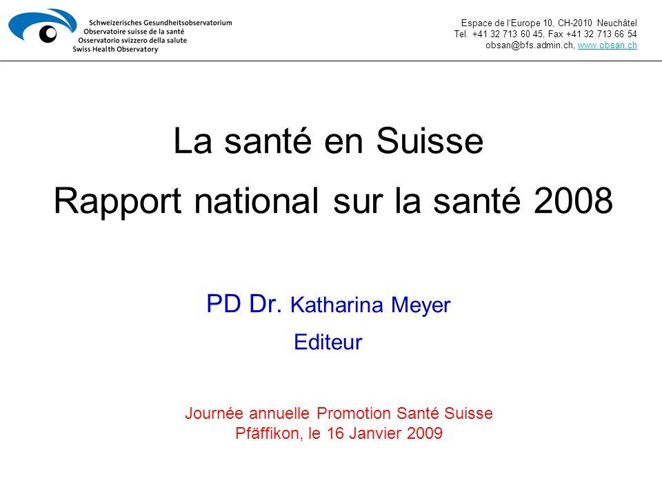 Journée annuelle Promotion Santé Suisse