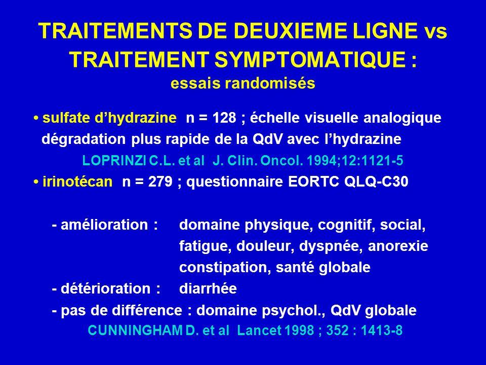 CUNNINGHAM D. et al Lancet 1998 ; 352 : 1413-8