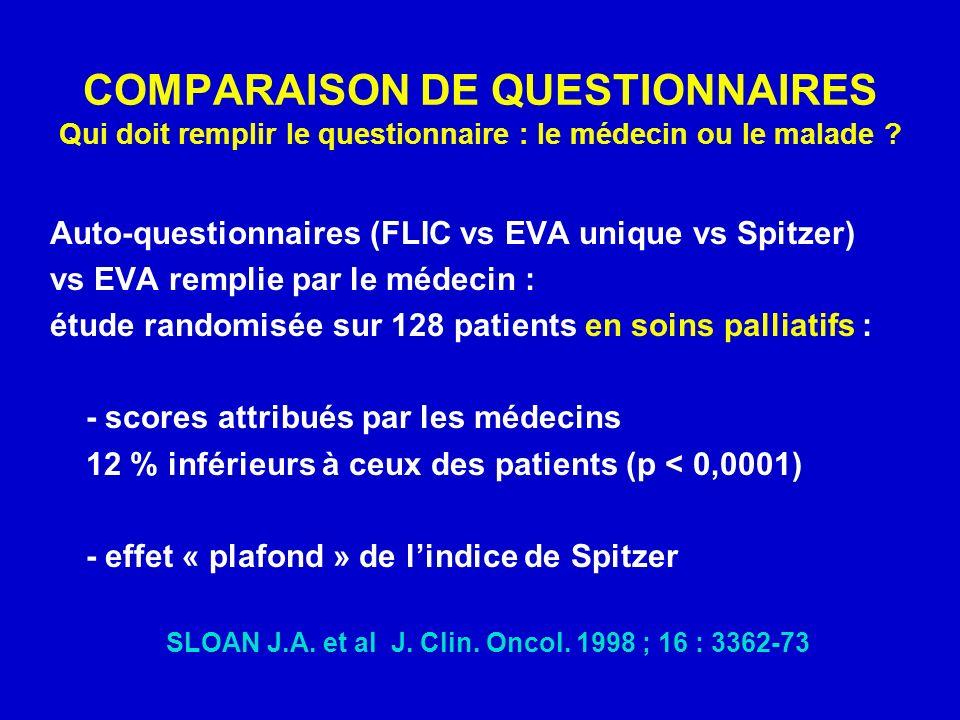 SLOAN J.A. et al J. Clin. Oncol. 1998 ; 16 : 3362-73
