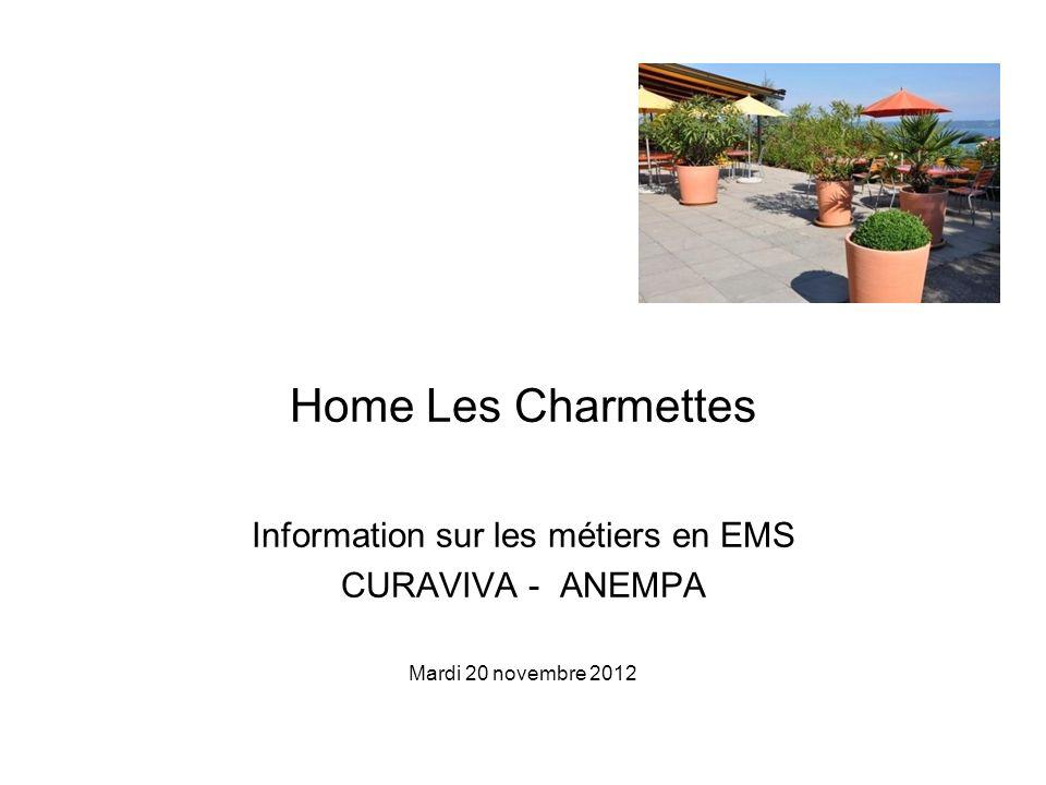 Information sur les métiers en EMS