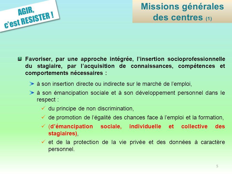 Missions générales des centres (1)