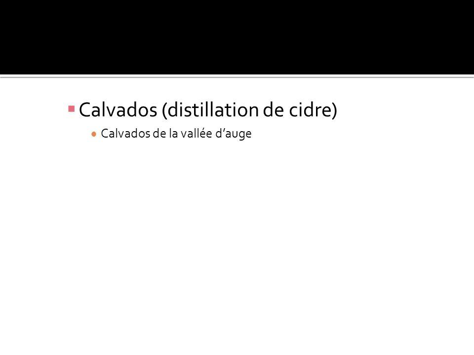 Calvados (distillation de cidre)