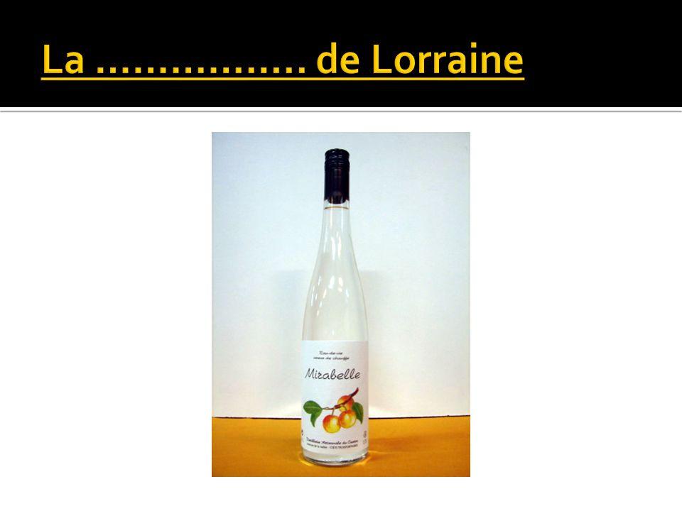 La …………….. de Lorraine