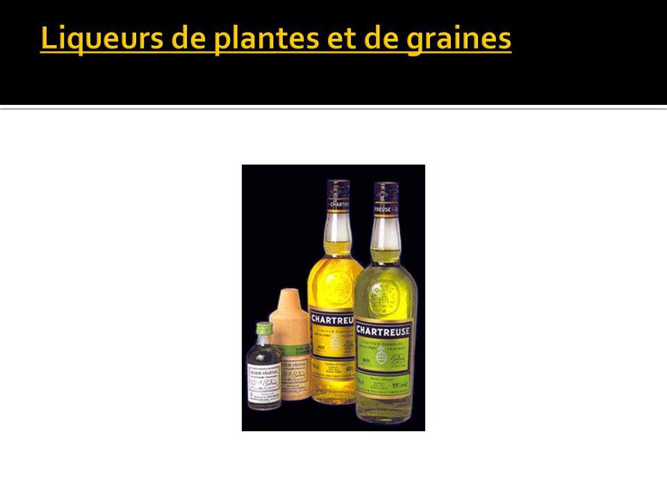 Liqueurs de plantes et de graines