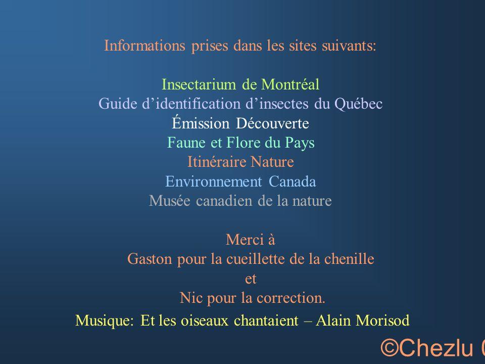 ©Chezlu 05 Informations prises dans les sites suivants: