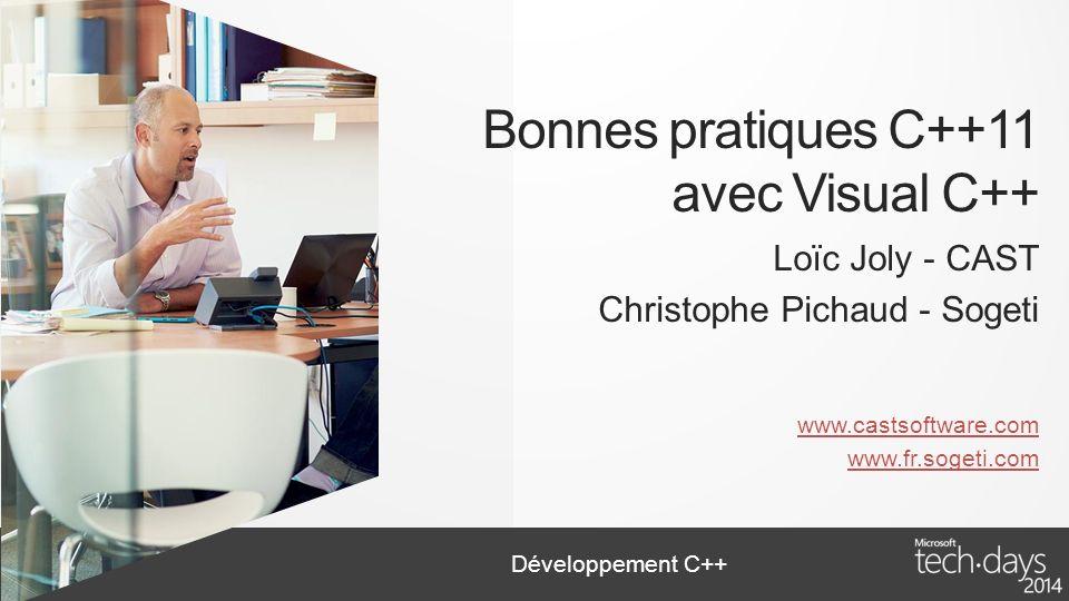 Bonnes pratiques C++11 avec Visual C++