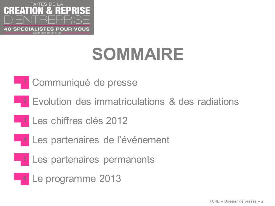 FCRE – Dossier de presse – 2