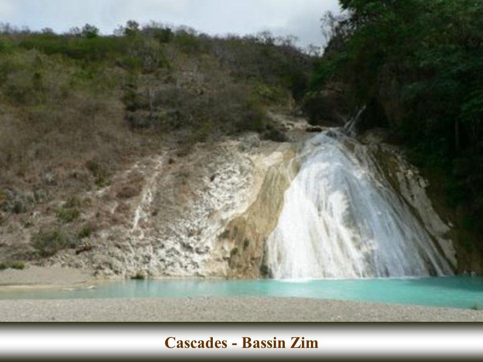 Cascades - Bassin Zim