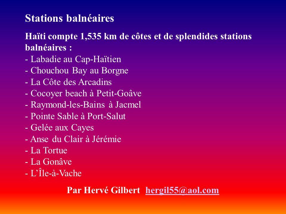 Par Hervé Gilbert hergil55@aol.com