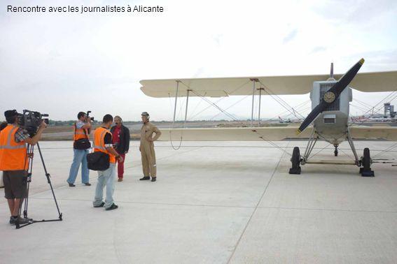 Rencontre avec les journalistes à Alicante