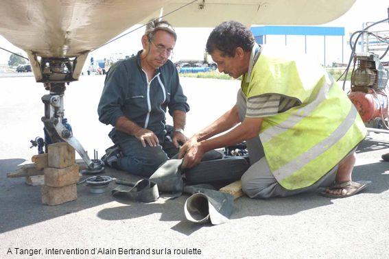 A Tanger, intervention d'Alain Bertrand sur la roulette