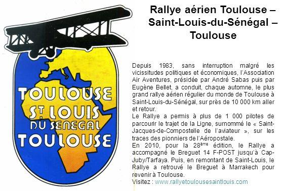 Rallye aérien Toulouse – Saint-Louis-du-Sénégal –