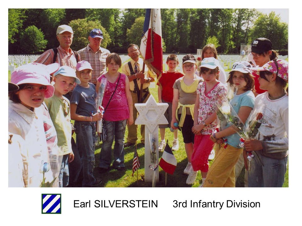 Earl SILVERSTEIN 3rd Infantry Division