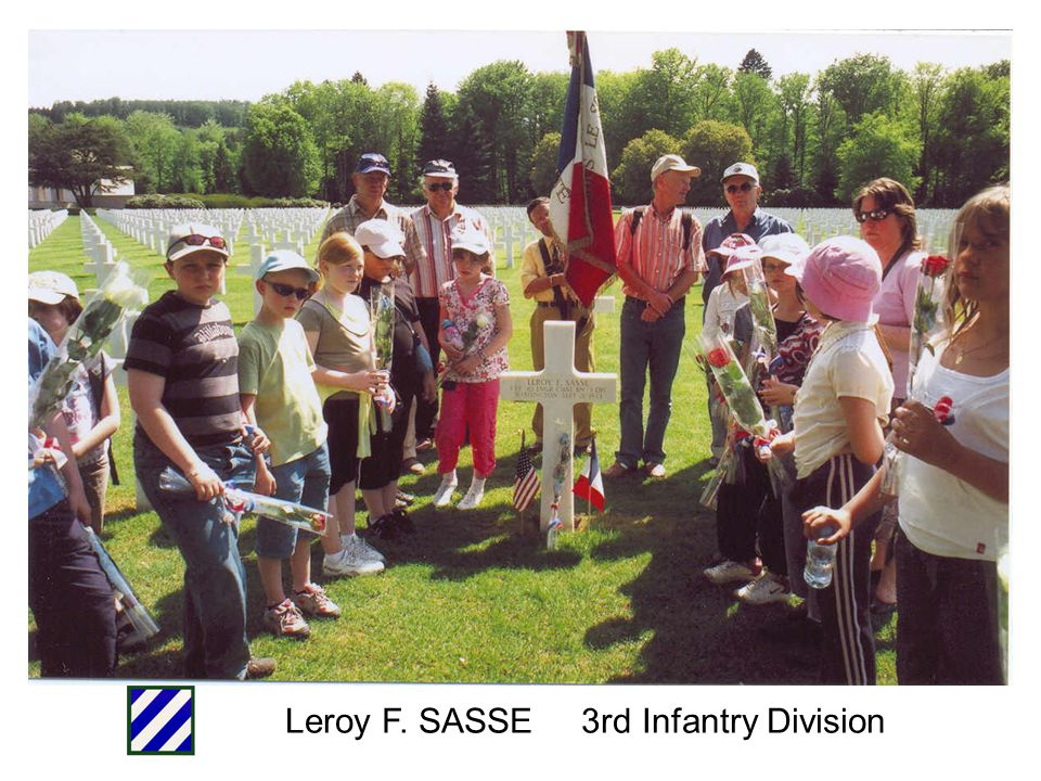 Leroy F. SASSE 3rd Infantry Division