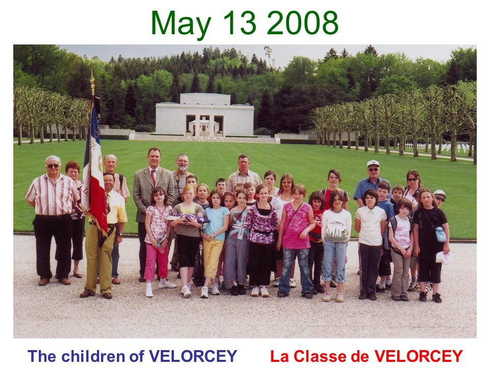 The children of VELORCEY La Classe de VELORCEY