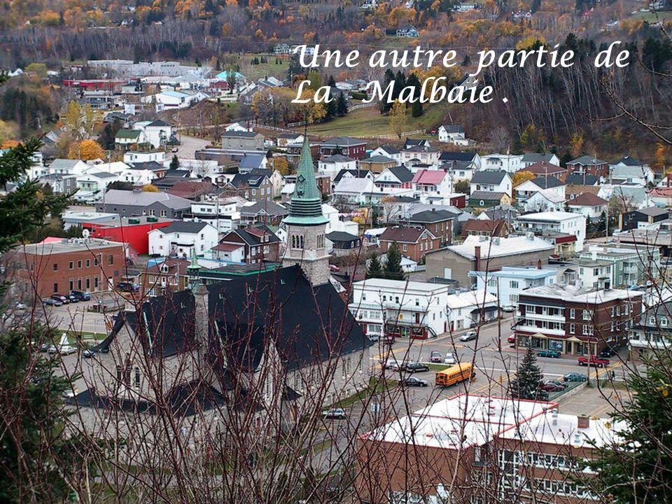 Une autre partie de La Malbaie .