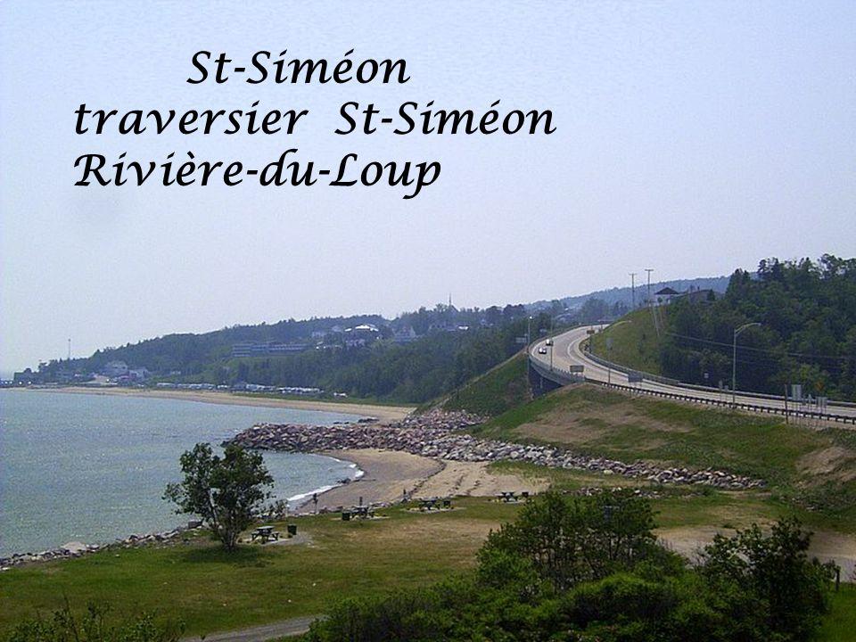 St-Siméon traversier St-Siméon Rivière-du-Loup