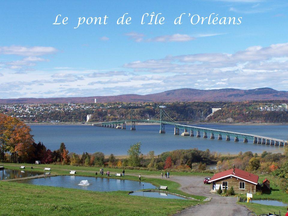 Le pont de l'Île d 'Orléans
