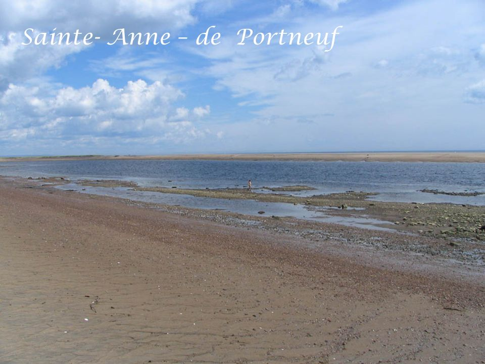 Sainte- Anne – de Portneuf