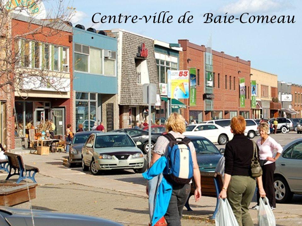 Centre-ville de Baie-Comeau .