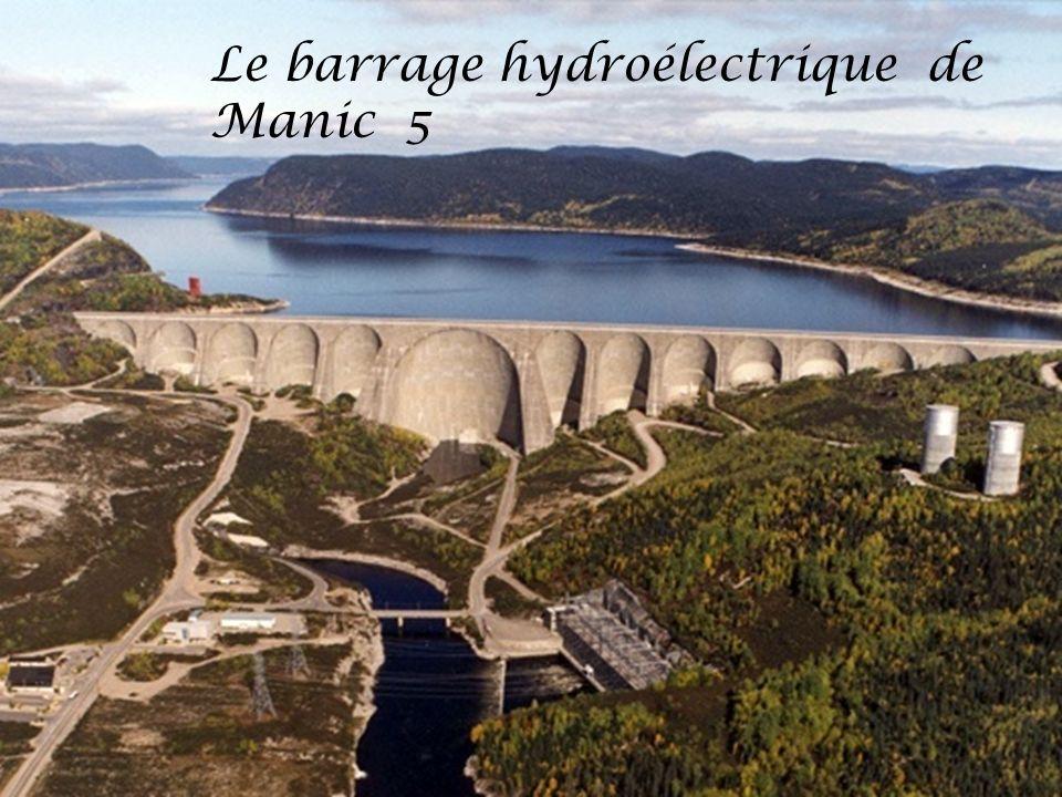 Le barrage hydroélectrique de